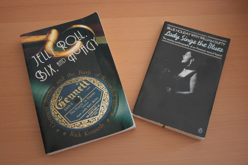 A couple of good music books.